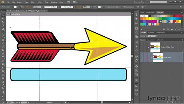 The benefits of using symbols: Illustrator CS6 One-on-One: Mastery