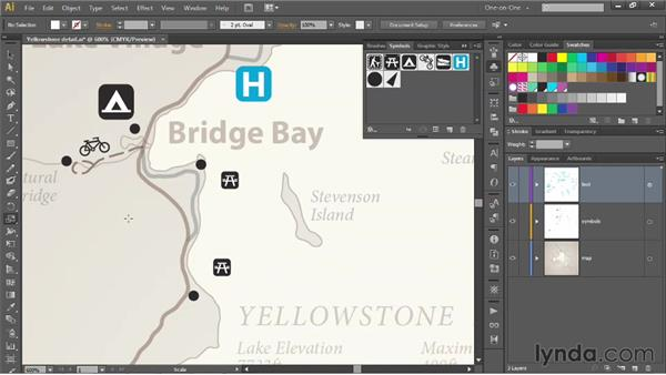 How symbols and instances work: Illustrator CS6 One-on-One: Mastery