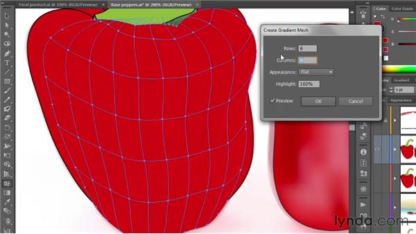 Shading objects with Gradient Mesh: Illustrator CS6 One-on-One: Mastery