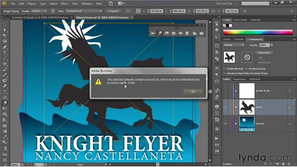 Introducing the Warp tool: Illustrator CS6 One-on-One: Mastery