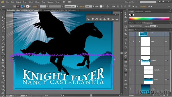Editing the contents of an envelope: Illustrator CS6 One-on-One: Mastery