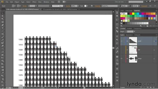 The pleasures and pitfalls of graphs: Illustrator CS6 One-on-One: Mastery
