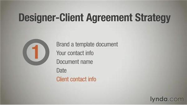 Anatomy of a contract: Part one: Running a Design Business: Designer-Client Agreements