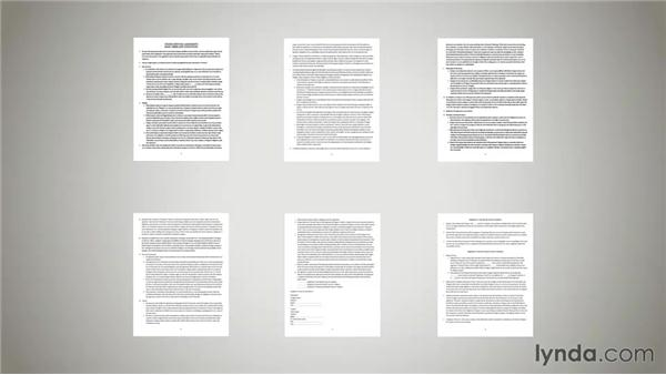 sample client contract