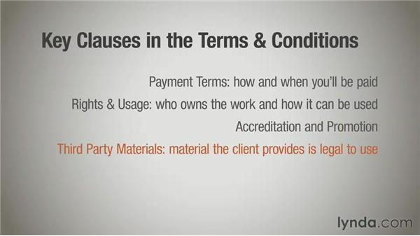 The legal language: Terms and conditions: Running a Design Business: Designer-Client Agreements