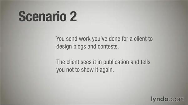 Challenge scenario: Terms and conditions: Running a Design Business: Designer-Client Agreements