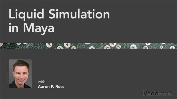 Goodbye: Liquid Simulation in Maya