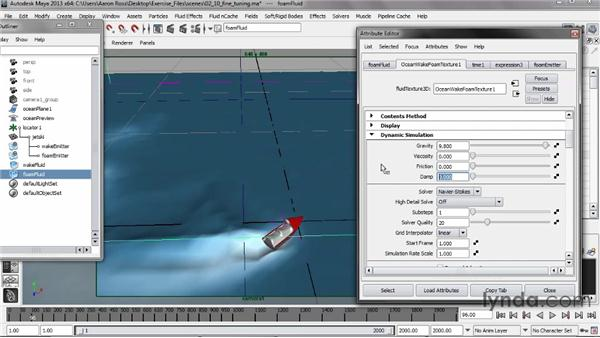 Fine-tuning the look: Creating Fluid Effects in Maya