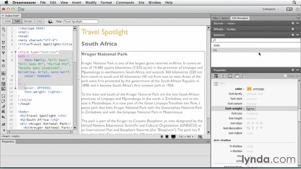 Welcome: Dreamweaver: Creative Cloud Updates
