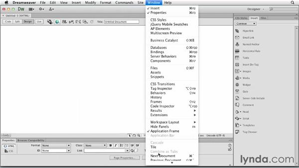 Simplified UI: Dreamweaver: Creative Cloud Updates