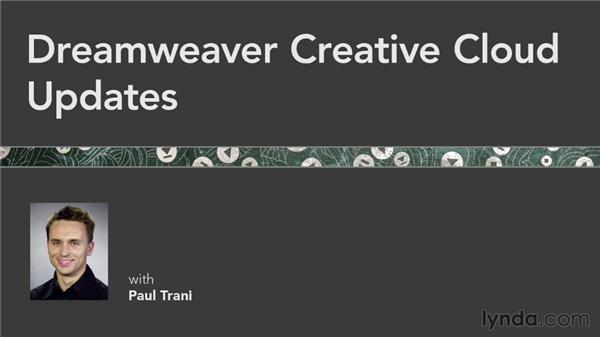 Goodbye: Dreamweaver: Creative Cloud Updates