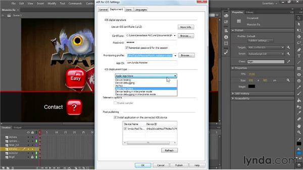 Debugging on iOS using Interpreter mode: Flash Professional: Creative Cloud Updates