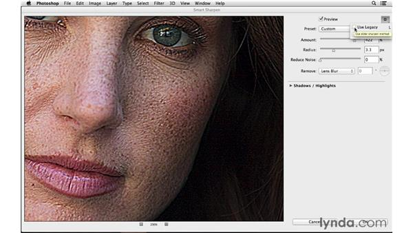 Improved Smart Sharpen: Photoshop for Photographers: 2013 Creative Cloud Updates