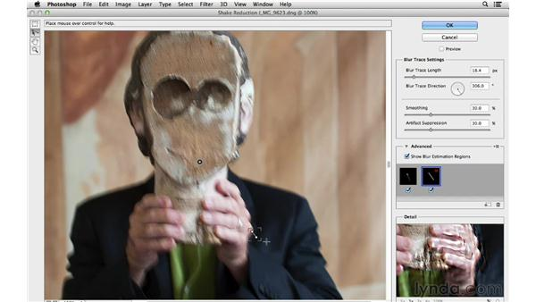 Using the Blur Direction tool: Photoshop for Photographers: 2013 Creative Cloud Updates
