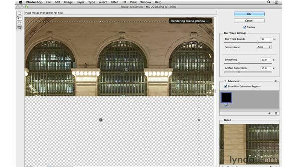 Improving long exposures with Shake Reduction: Photoshop for Photographers: 2013 Creative Cloud Updates