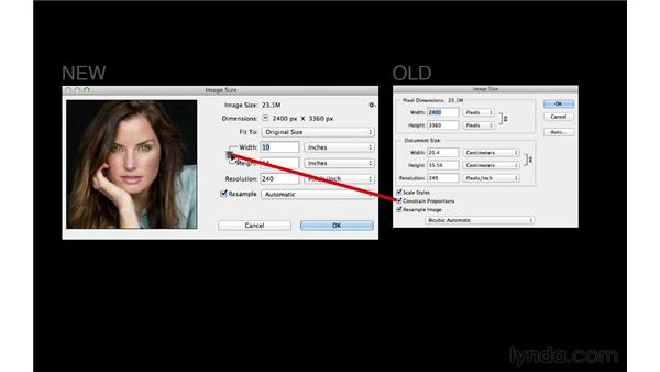 Introducing the new Image Size dialog: Photoshop for Photographers: 2013 Creative Cloud Updates