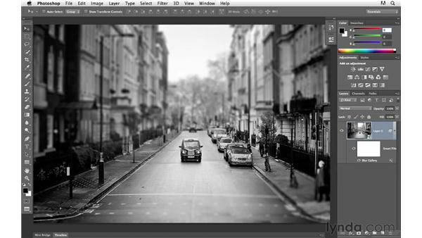 Modifying still images with the Blur Gallery and Smart Filters: Photoshop for Photographers: 2013 Creative Cloud Updates