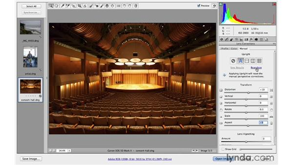 Automatic perspective enhancements with Upright: Photoshop for Photographers: 2013 Creative Cloud Updates