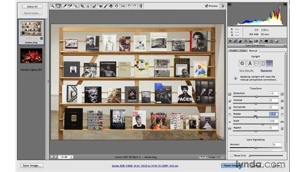 Using Upright in advanced ways: Photoshop for Photographers: 2013 Creative Cloud Updates