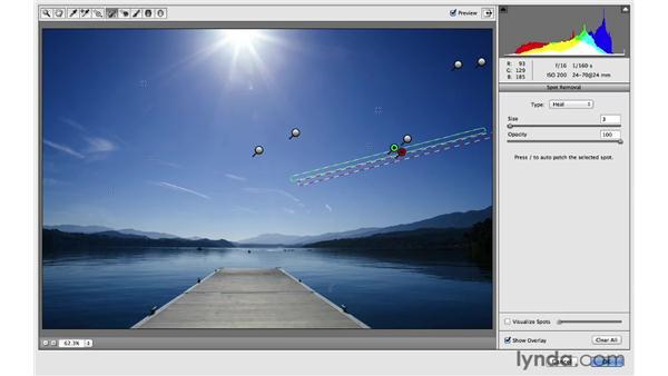 Making linear retouching adjustments: Photoshop for Photographers: 2013 Creative Cloud Updates
