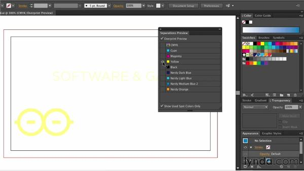 Using the Separations panel: Illustrator: 2013 Creative Cloud Updates