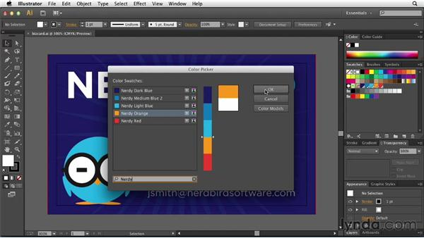 Searching for swatches: Illustrator: 2013 Creative Cloud Updates