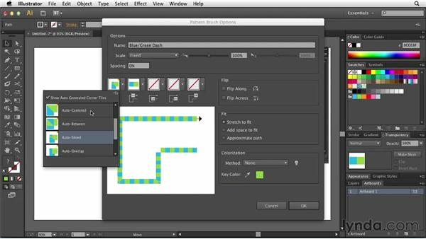 Working with automated corner generation: Illustrator: 2013 Creative Cloud Updates