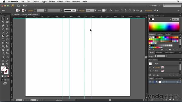 Using enhanced guides: Illustrator: 2013 Creative Cloud Updates