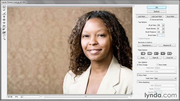 The dynamic, editable Liquify filter: Photoshop: 2013 Creative Cloud Updates