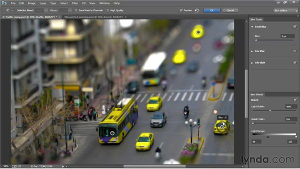 The dynamic, editable Blur Gallery: Photoshop: 2013 Creative Cloud Updates