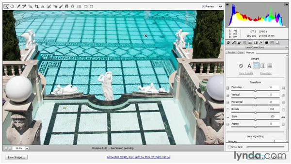 Automatic level and perspective correction: Photoshop: 2013 Creative Cloud Updates