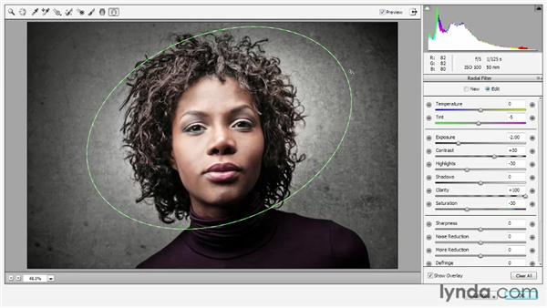 Creating vignettes with the Radial Filter tool: Photoshop: 2013 Creative Cloud Updates