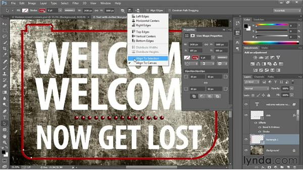 Shape properties and independent round corners: Photoshop: 2013 Creative Cloud Updates