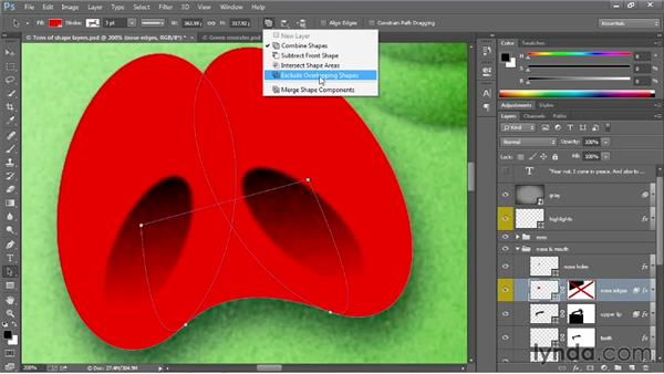 Other shape and path enhancements: Photoshop: 2013 Creative Cloud Updates