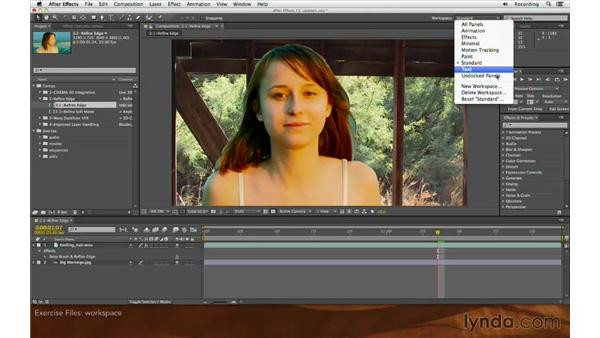 Using the exercise files: After Effects: Creative Cloud Updates