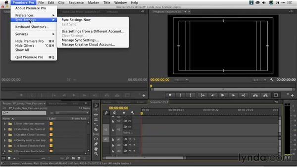 Roaming Sync Settings: Premiere Pro: Creative Cloud Updates