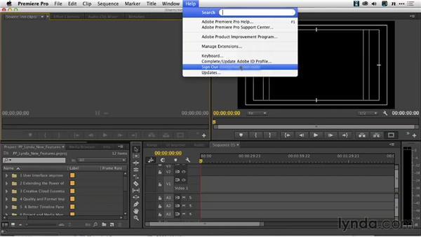 Deactivating with Creative Cloud: Premiere Pro: Creative Cloud Updates