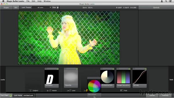 Previewing before and after: Up and Running with Magic Bullet Suite