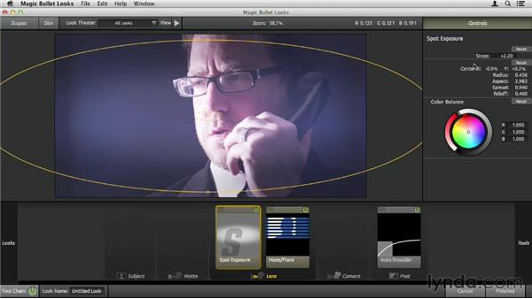 Tweaking Looks presets: Up and Running with Magic Bullet Suite