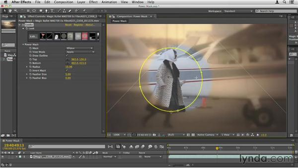 Creating a power mask: Up and Running with Magic Bullet Suite
