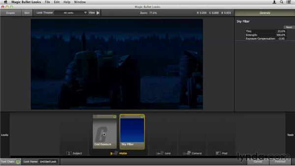 Using the Matte tools: Up and Running with Magic Bullet Suite