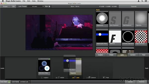 Using the Lens tools: Up and Running with Magic Bullet Suite