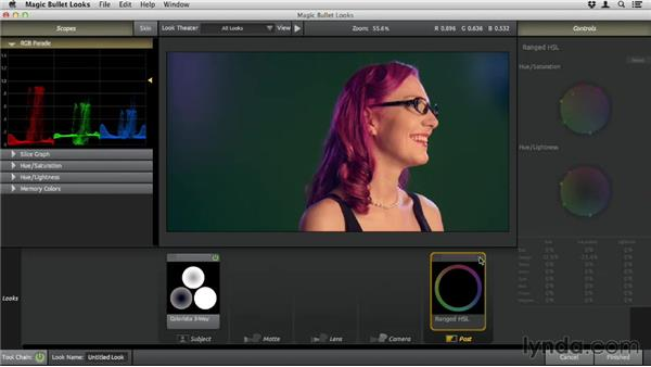 Shifting specific colors: Up and Running with Magic Bullet Suite
