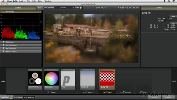 Creating a miniature effect: Up and Running with Magic Bullet Suite