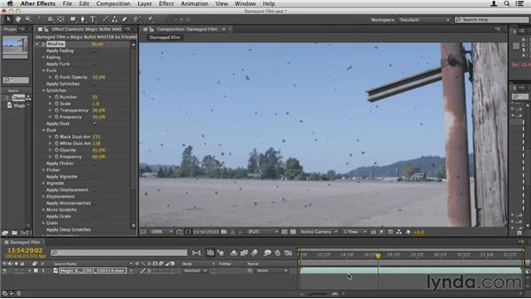 Creating the look of destroyed film: Up and Running with Magic Bullet Suite