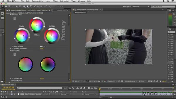 Doing secondary color corrections: Up and Running with Magic Bullet Suite