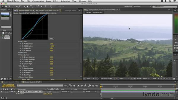 Using the master controls: Up and Running with Magic Bullet Suite