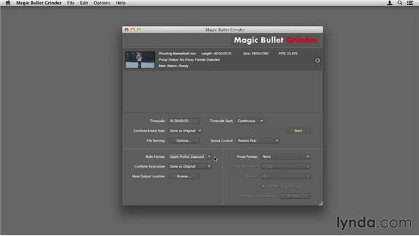 Using MB Grinder: Up and Running with Magic Bullet Suite