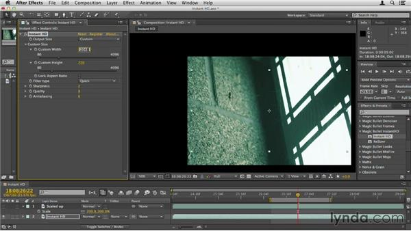 Using MB Instant HD: Up and Running with Magic Bullet Suite