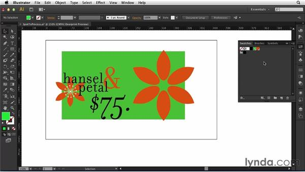 Converting spot colors to process: Print Production Essentials: Spot Colors and Varnish